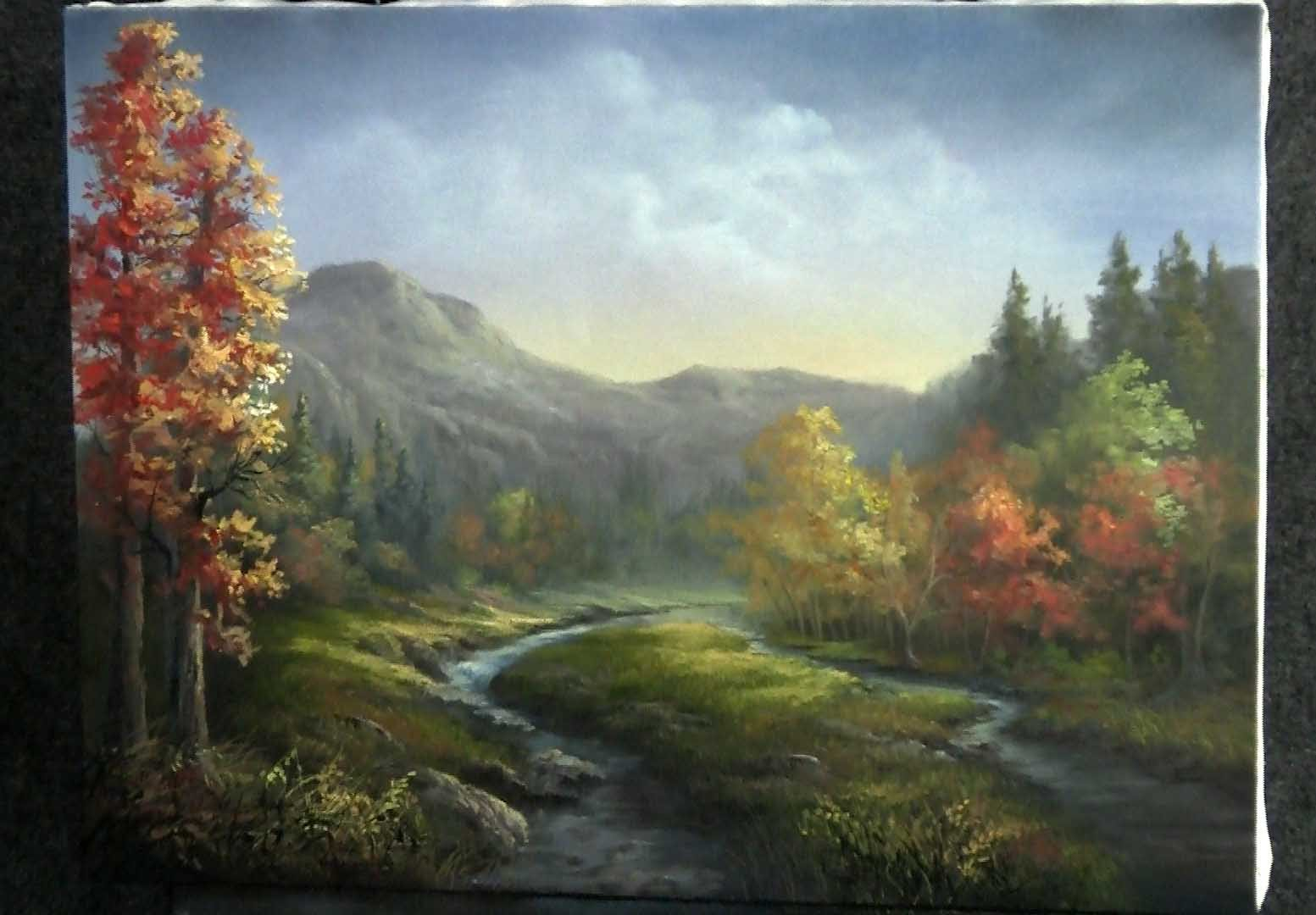 Fall Cabin The Woods Wallpaper Paint With Kevin Hill Autumn River Diy Fyi