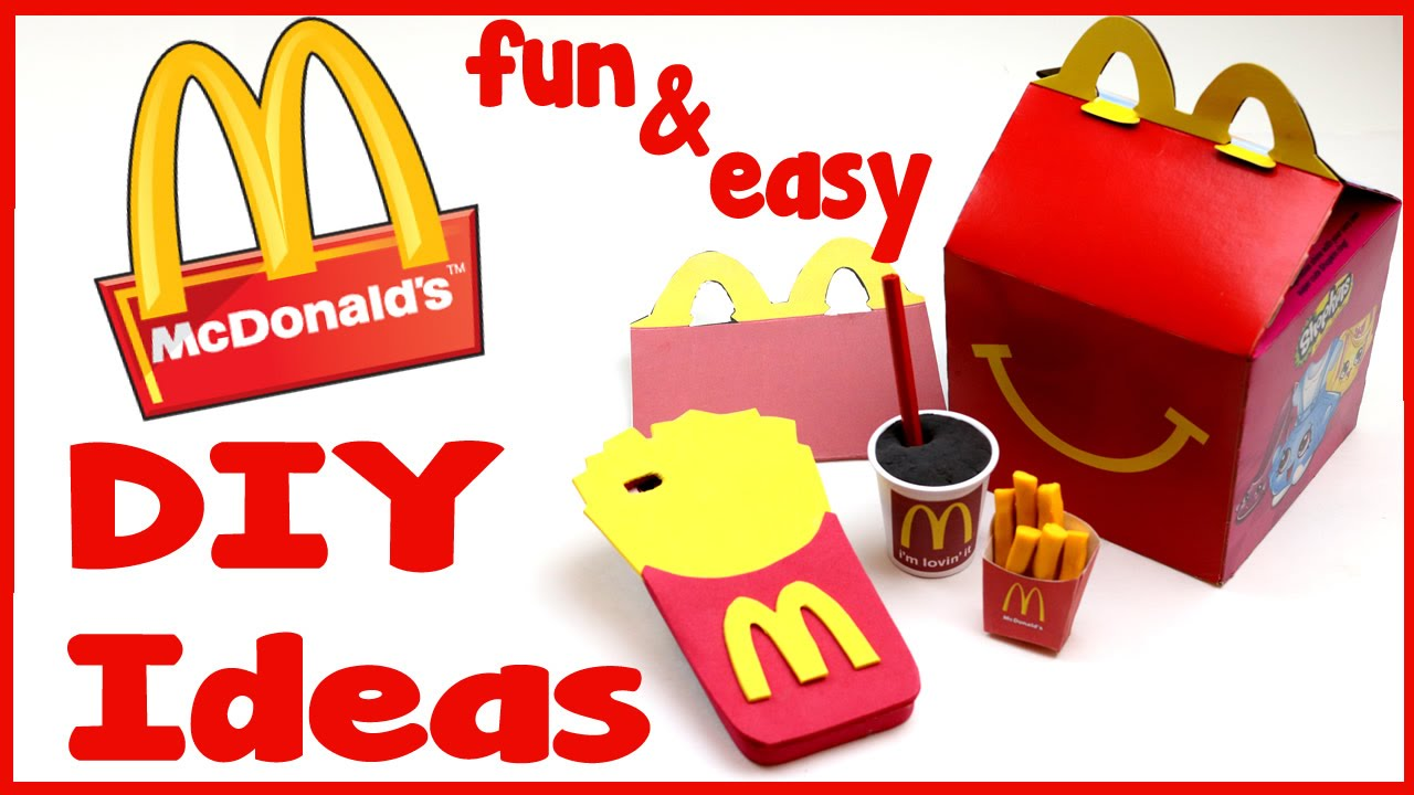 Diy Crafts 4 Fun Mcdonalds Diys School Supplies Phone
