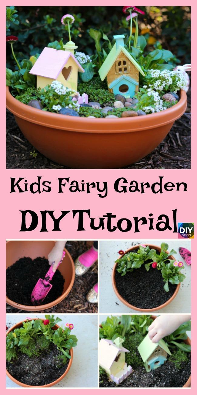 Large Of Fairy Garden For Kids