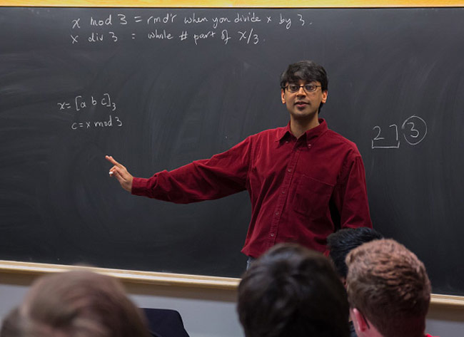 How math professor Manjul Bharagava solved a 200-year-old number theory puzzle by using Sanskrit Texts & the Rubik's Cube