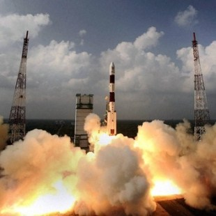 Indian Space Research launches eight satellites into two different orbits