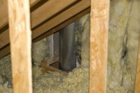 Insulating Around Fireplace Flue - Insulation - DIY ...