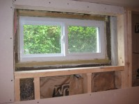 Framing And Trimming Basement Window - Carpentry - DIY ...