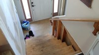 Newel And Trim-treads - Split Level Entry - Carpentry ...