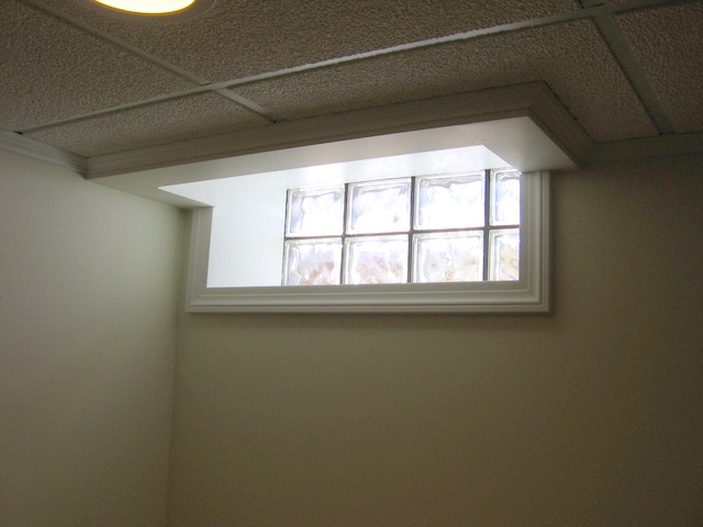 Finish Around Basement Tilt In Window