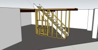 Basement Framing Around Stairs - Carpentry - DIY Chatroom ...