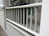 Attaching Wood Railing To Concrete Porch