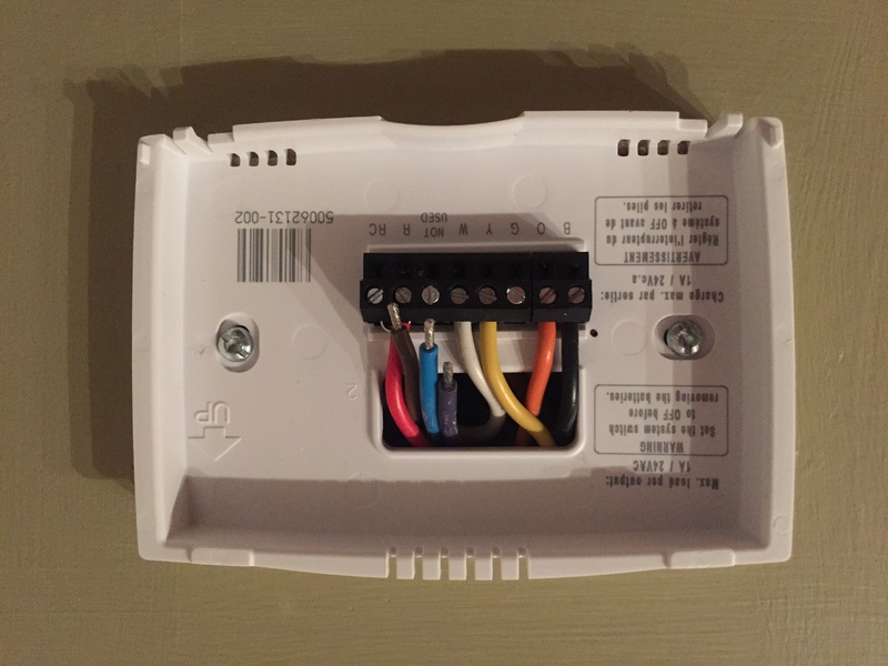 Honeywell Thermostat Wiring Honeywell Thermostat Wiring Diagram