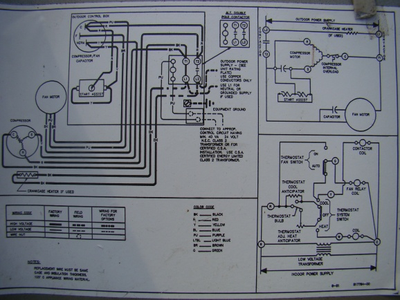 Condenser Fan Motor Wiring Diagram Wiring Diagram