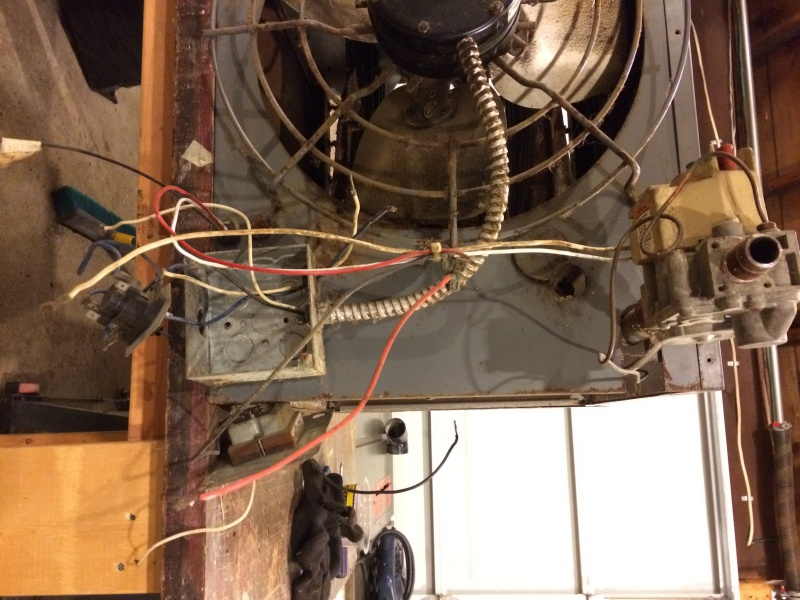 Dayton Unit Heater Wiring - HVAC - DIY Chatroom Home Improvement Forum