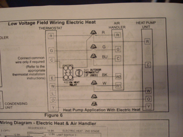Which Diagram To Use On Lenox Thermostat Wiring Setup? Heat Pump