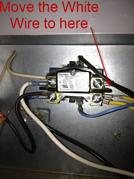 Help With 3 Wire To 4 Wire Condenser Fan Motor - HVAC - DIY Chatroom
