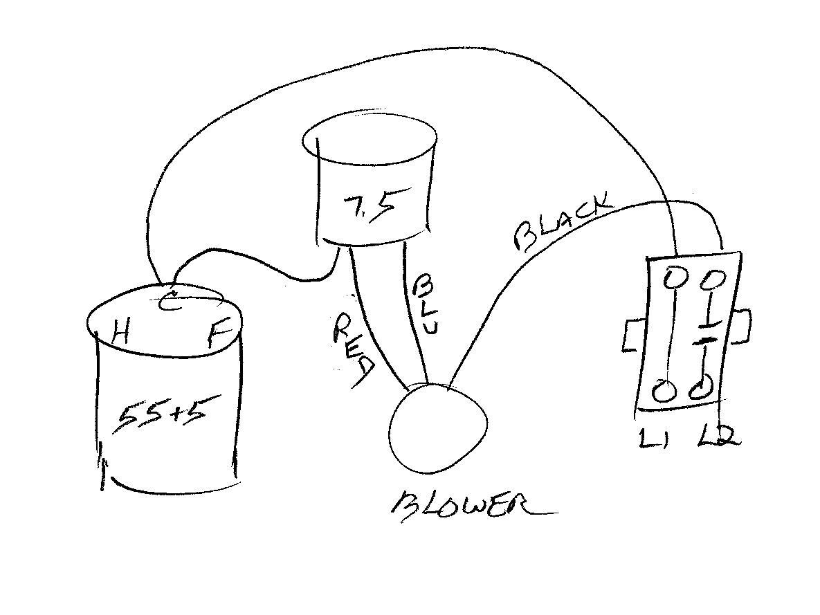 furnace blower relay wiring