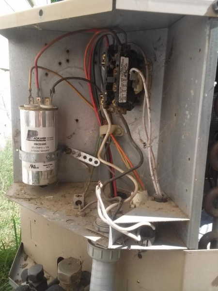 Thermostat Wire To Condenser Unit Where? - HVAC - DIY Chatroom Home