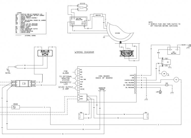 Kohler 7000 Generator Wiring Diagram Online Wiring Diagram