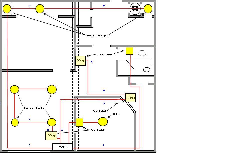 Bathroom House Wiring Wiring Diagram 2019