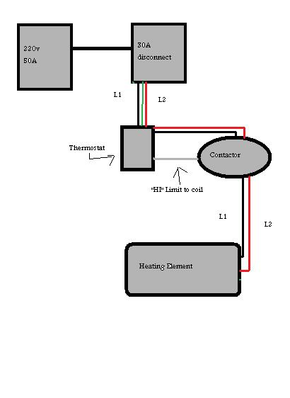 wiring a contactor electrical diy chatroom home improvement forum