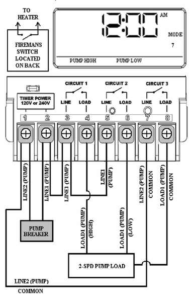 wiring diagram for pool pump