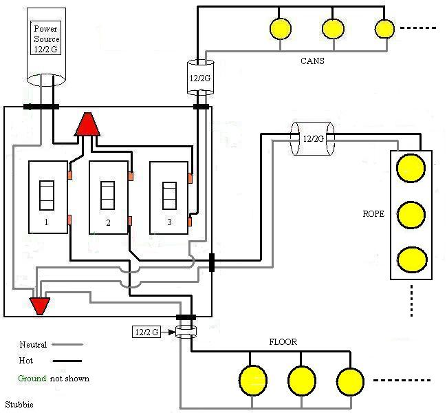 Three Switch Box Wiring Diagram Wiring Diagram