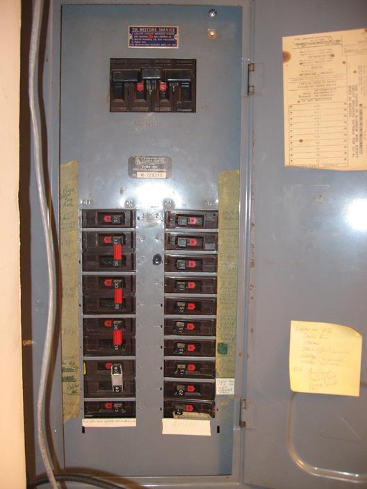 vintage 60 amp fuse box