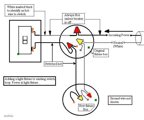 electrical switch loop diagram