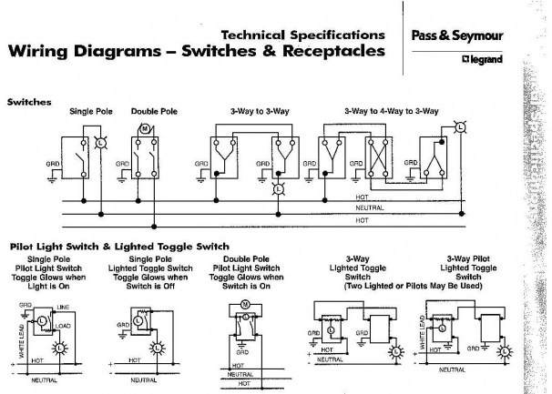 Pilot Switch Wiring Diagram - Wiring Diagrams