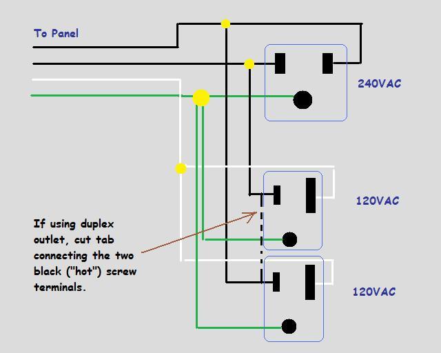 120 volt 3 wire well pump wiring diagram