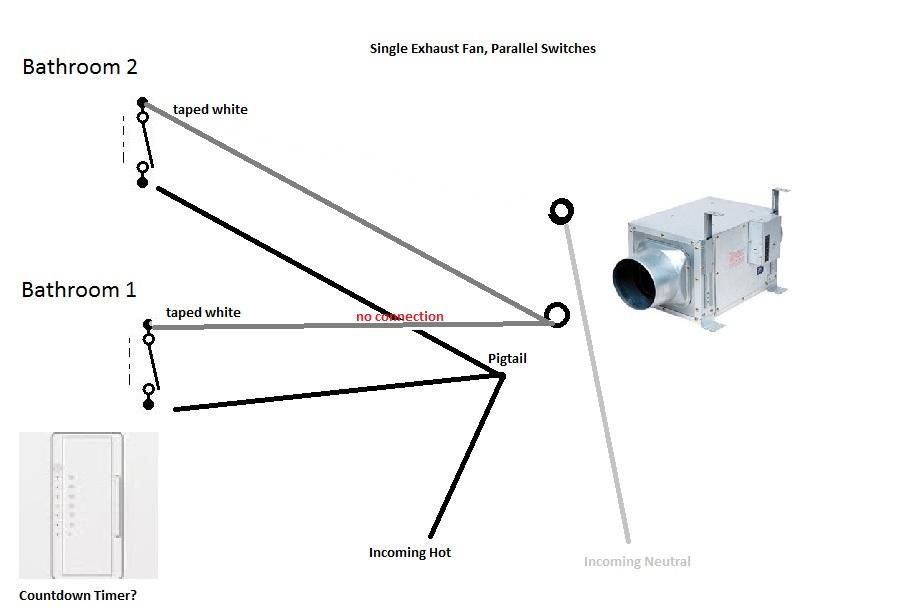 Wiring Diagram For A Bathroom Wiring Schematic Diagram
