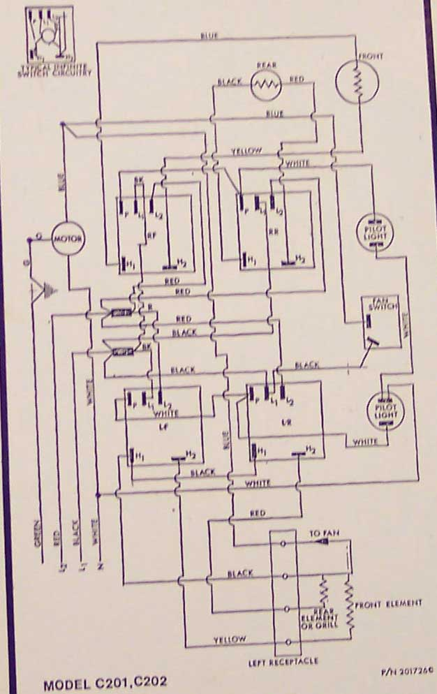 Electric Stove Wiring Diagram Besides Vintage General Electric Stove