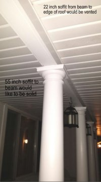 Solid Aluminum Soffit Panel For Porch Ceiling