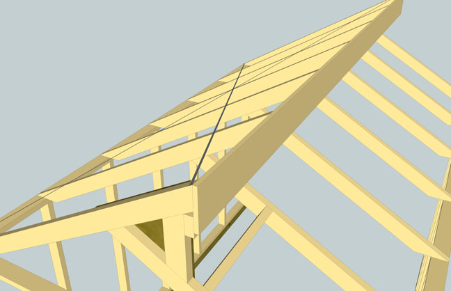 Shed Roof Question - Rafter Layout - Building & Construction - Diy