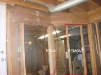 Replacing Load Bearing Wall With Pole - Building ...