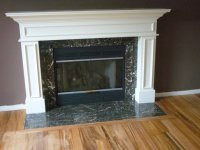 What Kind Of Paint To Use For A Fireplace Surround ...