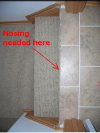 What Stair Nosing After Ceramic Install?? - Flooring - DIY ...