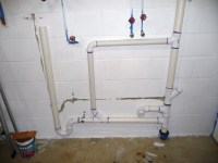 Washer P-Trap in 2nd floor Insulated Exterior Wall ...