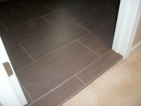 Door Transition And Where To Start Cementboard For Tiling