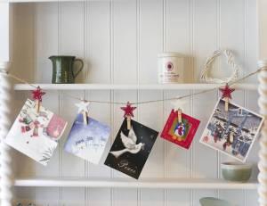 Christmas Card Garland - DIY Garland