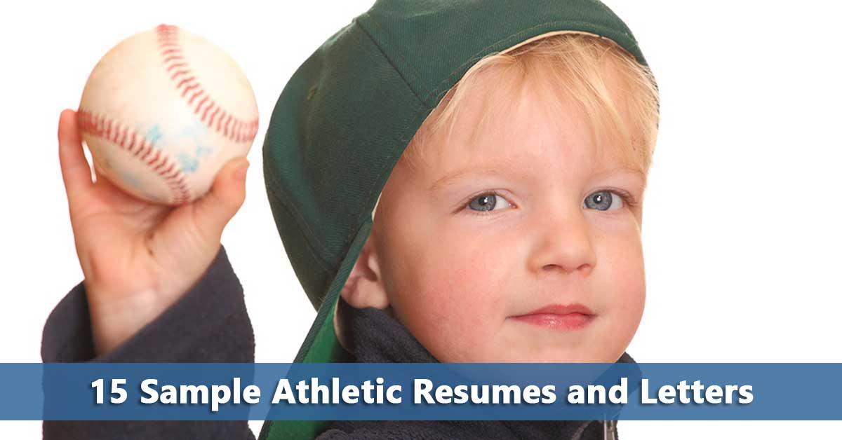 15 sample athletic resumes