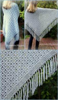 100 Free Crochet Shawl Patterns - Free Crochet Patterns ...