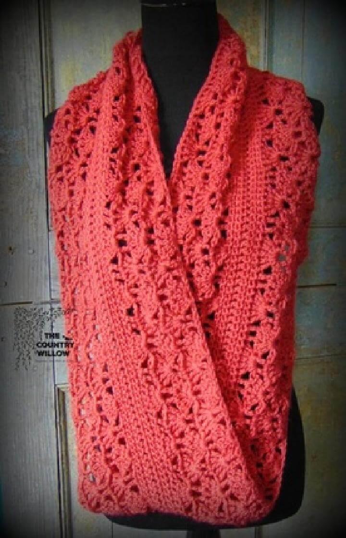 Free Crochet Patterns Infinity Scarf ~ Dancox for