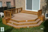 Deck Plan #1R6106 | DIY Deck Plans