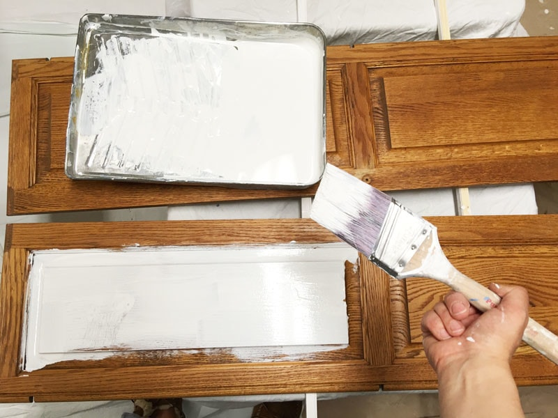How To Paint Bathroom Cabinets Why You Shouldn39t Sand