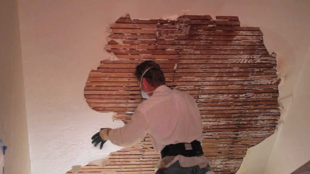 How To Fix Falling Wallpaper Fixing To Lath And Plaster How To Fix To Lath And