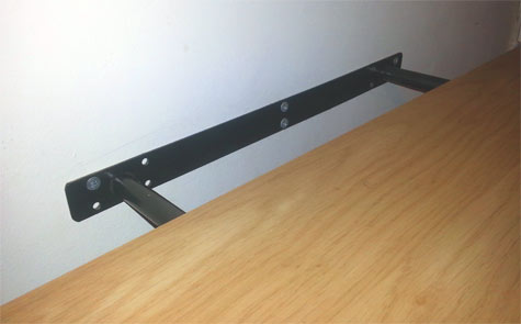 Top Mount Shelf Brackets Page 1 Homes Gardens And