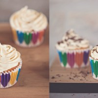 ROM CUPCAKES MED BAILEYS FROSTING
