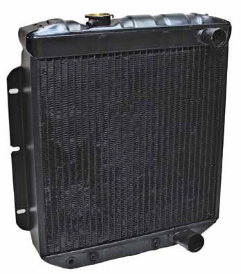Small Block-Ford Cooling System and Front Dress Parts Interchange