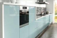 Ultragloss Metallic Blue - Kitchen Door - Custom Made Kitchens