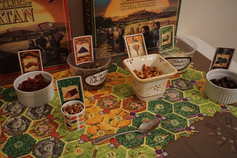 Whoopie Pie toppings Settlers of Catan style