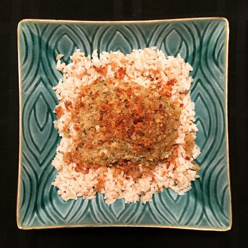 chicken rolls with pesto and panko recipe