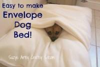 Easy To Make Envelope Dog Bed